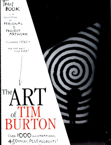 9781935539032: The Art of Tim Burton