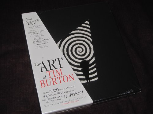 9781935539063: The Art of Tim Burton (4th Printing; Signed Deluxe Edition; No Litho)