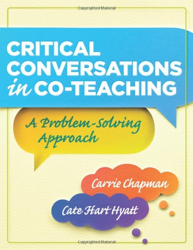 9781935542322: Critical Conversations in Co-Teaching: A Problem-Solving Approach