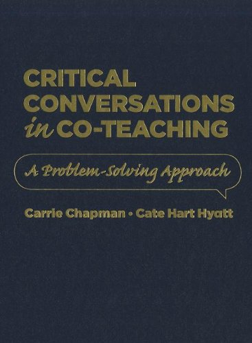 9781935542339: Critical Conversations in Co-Teaching: A Problem Solving Approach