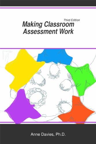 9781935543886: Making Classroom Assessment Work