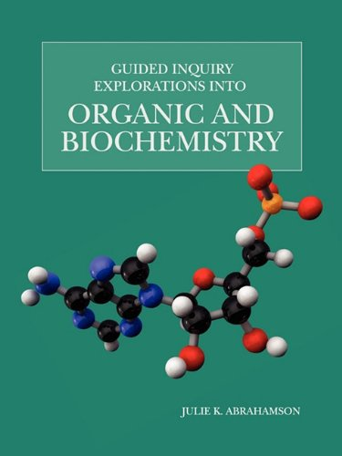 9781935551584: Guided Inquiry Explorations into Organic and Biochemistry