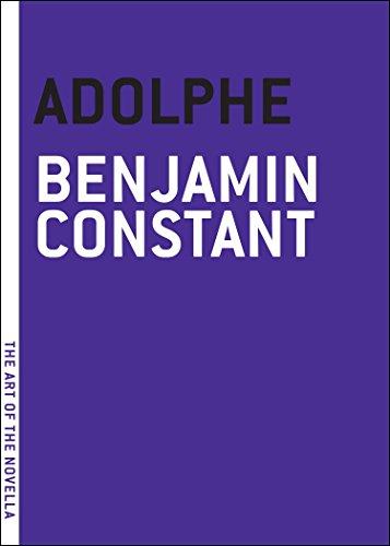 9781935554097: Adolphe (Art of the Novel)