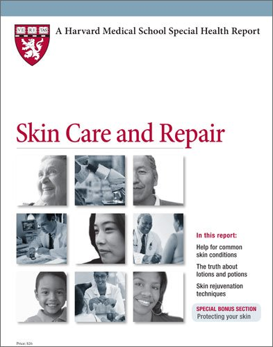 9781935555193: Harvard Medical School Skin Care and Repair