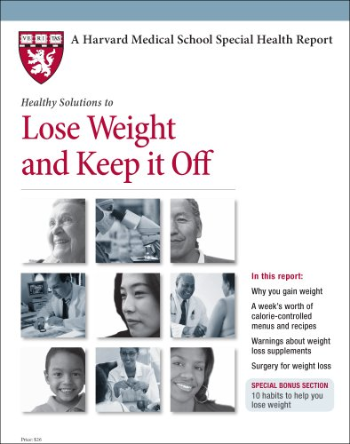 9781935555599: Harvard Medical School Healthy Solution to Lose Weight and Keep it Off