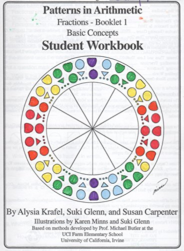 Patterns in Arithmetic: Fractions: Booklet 1 Student: Susan Carpenter, and
