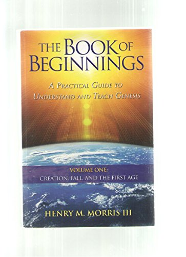 9781935587095: Book of Beginnings A Practical Guide to Understand and Teach Genesis
