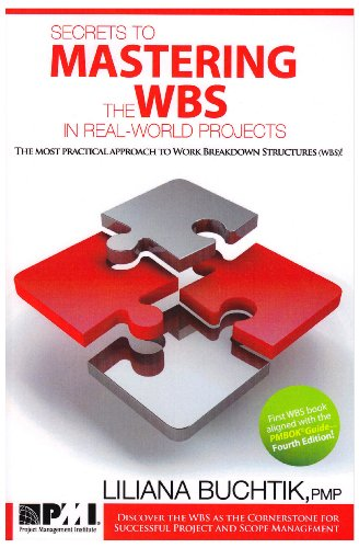 9781935589044: Secrets to Mastering the WBS in Real-World Projects: The Most Practical Approach to Work Breakdown Structures (Wbs)!