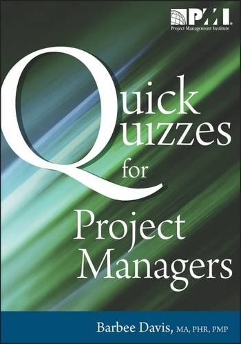9781935589105: Quick Quizzes for Project Managers