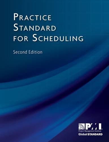 9781935589242: Practice standard for scheduling