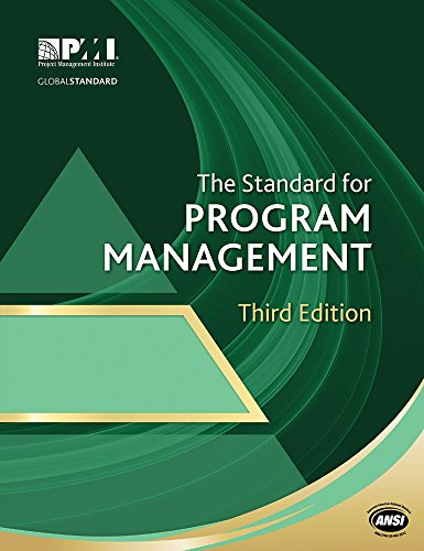 The Standard for Program Management Third Edition (Paperback): Project Management Institute