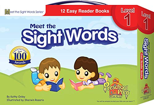 9781935610007: Meet the Sight Words - Level 1 - Easy Reader Books (boxed set of 12 books)