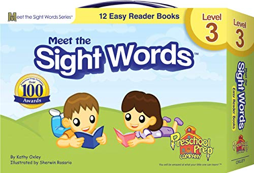 9781935610021: Meet the Sight Words - Level 3 - Easy Reader Books (boxed set of 12 books)