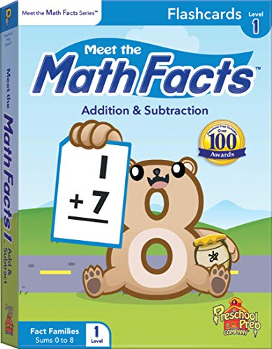 Meet the Math Facts Level 1 - Flashcards