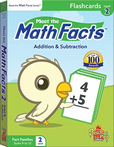 Meet the Math Facts Level 2 - Flashcards