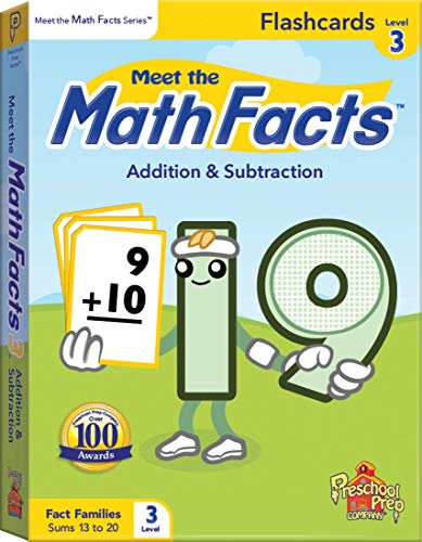 Meet the Math Facts Level 3 - Flashcards