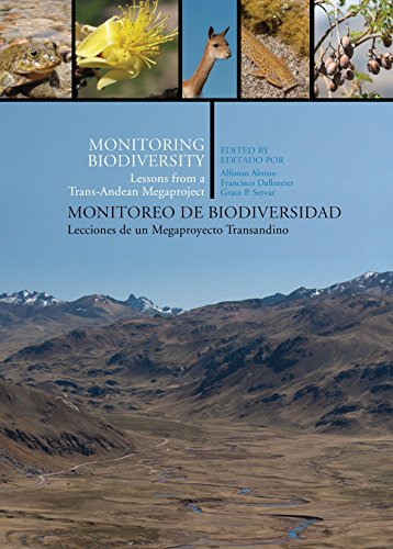 9781935623205: Monitoring Biodiversity: Lessons from a Trans-Andean Megaproject (English and Spanish Edition)