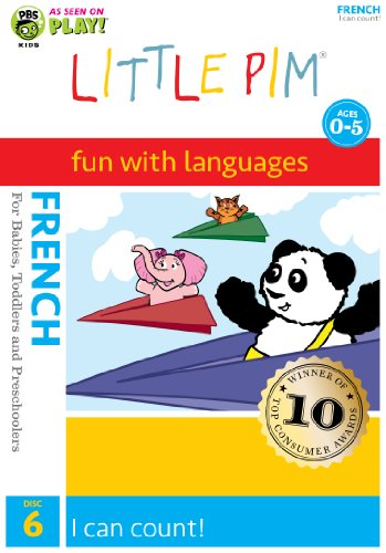 9781935643029: Little Pim: I Can Count (French)