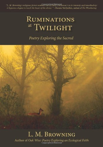 9781935656050: Ruminations at Twilight: Poetry Exploring the Sacred