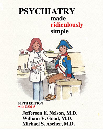 9781935660132: Psychiatry Made Ridiculously Simple (Medmaster Ridiculously Simple)