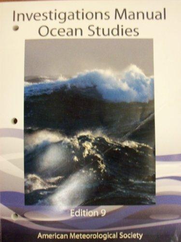 9781935704973: Ocean Studies Investigations Manual 9th Edition