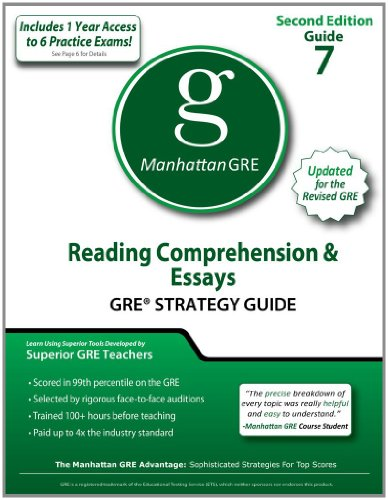 9781935707523: Reading Comprehension & Essays GRE Strategy Guide, 2nd Edition (Manhattan GRE Strategy Guides)