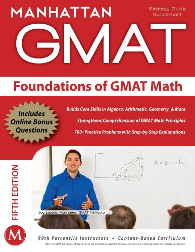 9781935707592: Foundations of GMAT Math (Instructional Guide)
