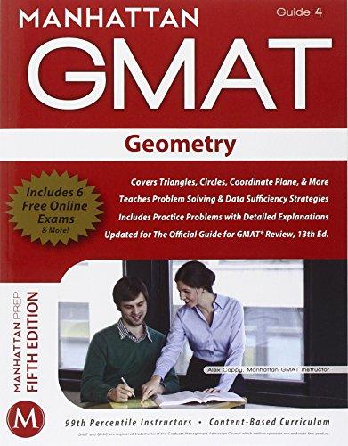 9781935707646: Geometry GMAT Strategy Guide (Manhattan GMAT Instructional Guide 4)