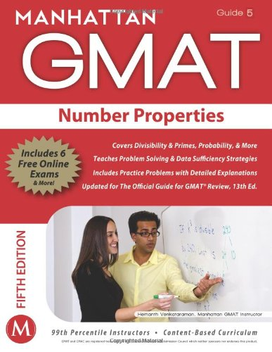 9781935707653: Number Properties GMAT Strategy Guide (Manhattan GMAT Instructional Guide 5)
