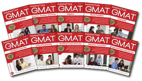Manhattan GMAT Complete Strategy Guide Set, 5th: Manhattan GMAT, -