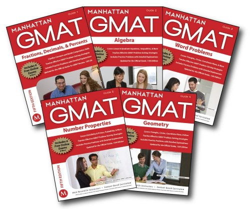 Manhattan GMAT Quantitative Strategy Guide Set, 5th: Manhattan GMAT, -