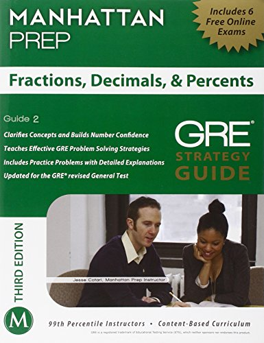 9781935707929: Fractions, Decimals, & Percents GRE Strategy Guide, 3rd Edition (Instructional Guide)