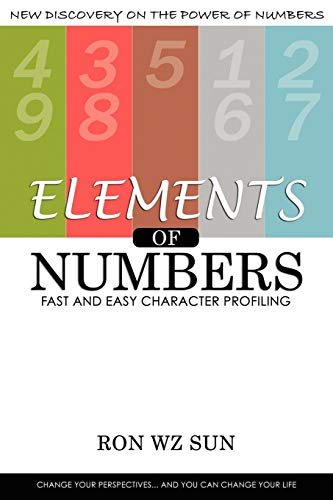 9781935723097: Elements of Numbers: Fast and Easy Character Profiling