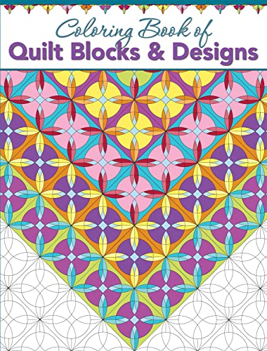 Coloring Book of Quilt Blocks & Designs: Landauer