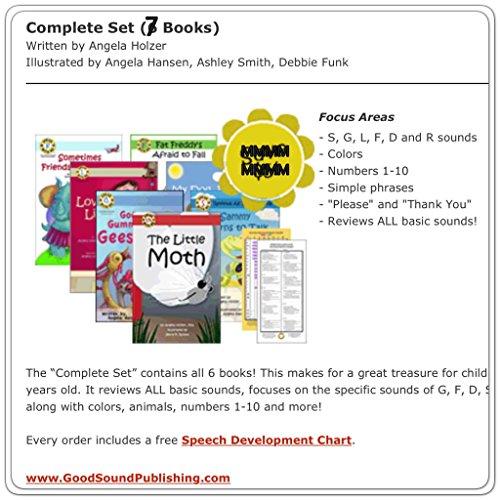 9781935743026: Speak With Me Series (Complete Set: 7 Books + Speech Development Chart)