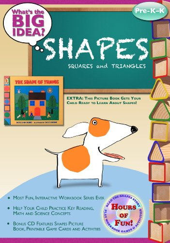 Shapes - Squares & Triangles: What's the BIG Idea? Workbook (1935784102) by The Vermont Center for the Book; Jay Johnson