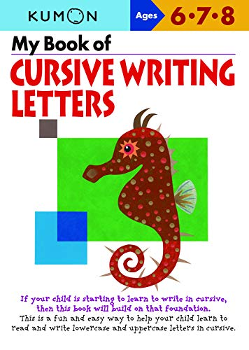 9781935800187: My Book of Cursive Writing : Letters (Kumon Workbooks)