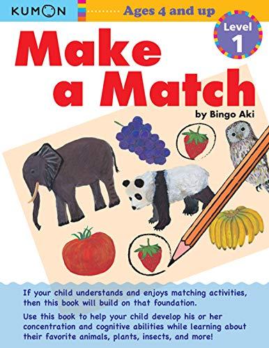 9781935800248: Kumon Make a Match: Level 1