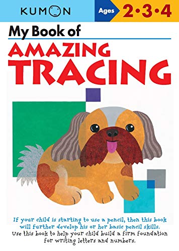 9781935800439: WORKBK-MY BK OF AMAZING TRACIN (Kumon Workbooks)