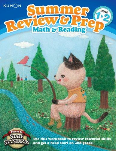 Summer Review & Prep Workbooks 1-2: Kumon