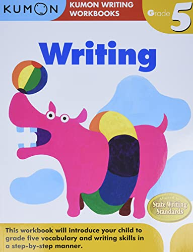9781935800613: Grade 5 Writing (Kumon Writing Workbooks)