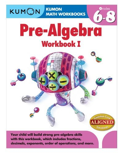 9781935800835: Kumon Pre-Algebra Workbook I (Kumon Math Workbooks)