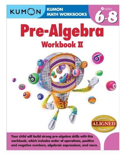 9781935800842: Kumon Pre-Algebra Workbook II (Kumon Math Workbooks)