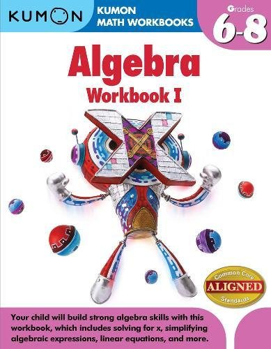 9781935800859: Kumon Algebra (Kumon Math Workbooks)