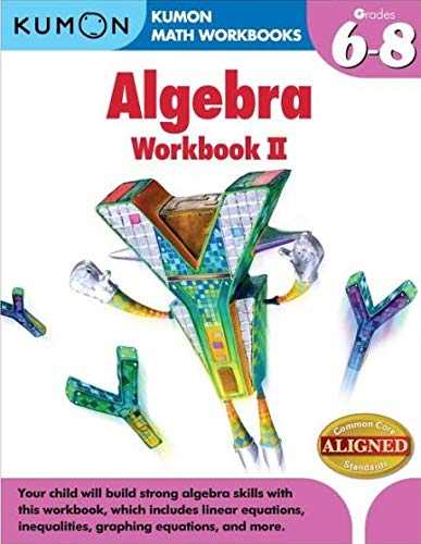 9781935800866: Kumon Algebra Workbook Ii (Kumon Math Workbooks)