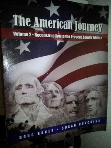 9781935801016: AMERICAN JOURNEY,VOLUME 2