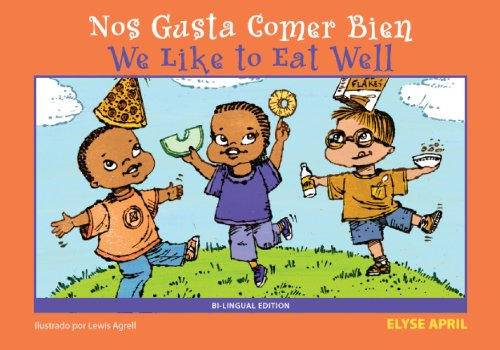 9781935826019: We Like To Eat Well/Nos Gusta Comer Bien
