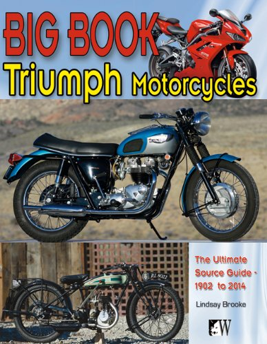9781935828631: Big Book of Triumph Motorcycles: Ultimate Source Guide - 1903 to 2012 (Wolfgang Publications)