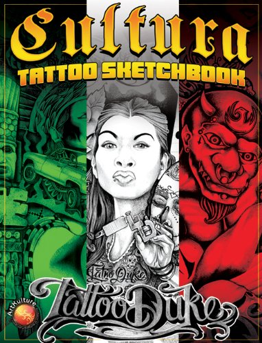 Cultura Tattoo Sketchbook: Tattoo Duke