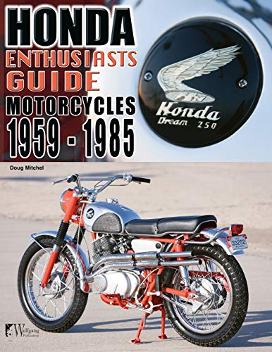 9781935828853: Honda Enthusiasts Guide: Motorcycles 1959-1985